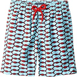 Fishnet Swim Trunk (Big Kids)