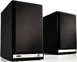 Audioengine HD6 150W Wireless Powered Bookshelf Speakers, Bluetooth aptX HD, USB 24-Bit DAC & Analog Amplifier (Black)