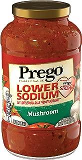 PregoLower SodiumMushroom Italian Sauce, 23.5 oz.