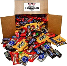 Chocolate Candy 150 pieces (5.6 lbs) Variety Pack Hersheys Nestles Reese's Snickers York Peppermint Almond Joy Kit Kat, M&...