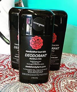 Handcrafted Goat Milk Deodorant