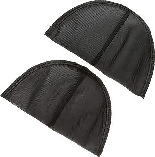 Dritz 53078-1 Shoulder Pads, Covered Set-in, 1/2-Inch, Black