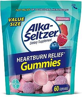 Alka-Seltzer Heartburn Relief Gummies 60ct