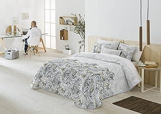 Casa Creativa COLCHA BOUTI JUVENIL MODELO MARGA (235X270)+ 2 Fundas de Cojín decorativos de regalo (60x60) cama de 135 ó 140 (ANTILO)
