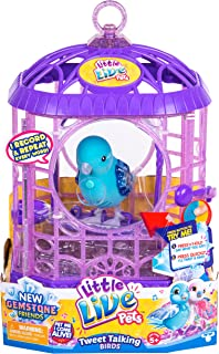 Little Live Pets Bird with Cage - Starflake