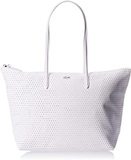Lacoste Womens Shopping Bag, White (001) - NF3100CF