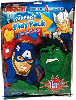 Avengers SURPRISE Play Pack Grab & Go! with 1 Collectible Character