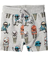Stella McCartney Kids - Ice Cream Monster Print Knit Shorts (Toddler/Little Kids/Big Kids)