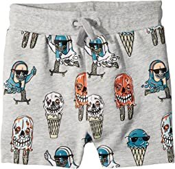 Stella McCartney Kids Ice Cream Monster Print Knit Shorts (Toddler/Little Kids/Big Kids)
