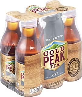 Gold Peak Tea, Diet Tea, 16.9 fl oz, 6 Pack