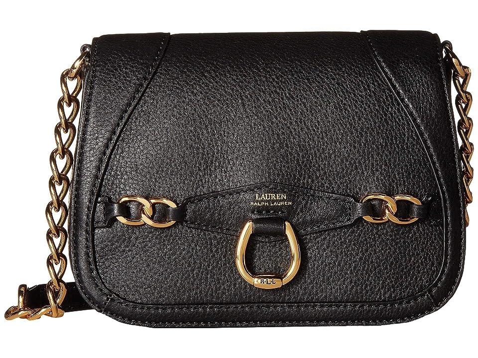 9fd939a51c LAUREN Ralph Lauren Stonegate Crossbody (Black 2) Cross Body Handbags