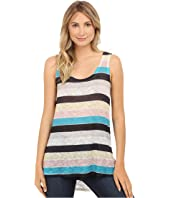 Nally & Millie - Stripe Print Tank Top