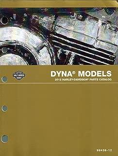 2012 Harley-Davidson Dyna Models Parts Catalog, Harley Part Number 99439-12