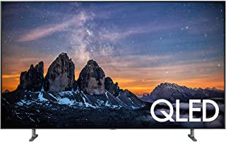 Samsung QN75Q80RAFXZA Flat 75-Inch QLED 4K Q80 Series Ultra HD Smart TV with HDR and Alexa Compatibility (2019 Model)