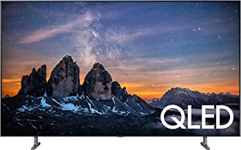 Samsung QN55Q80RAFXZA Flat 55-Inch QLED 4K Q80 Series Ultra HD Smart TV with HDR and Alexa Compatibility (2019 Model)