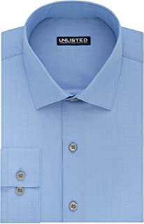 Kenneth Cole Unlisted Men's Dress Shirt Regular Fit Solid
