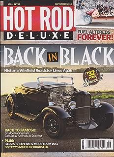 Hot Rod Deluxe Magazine September 2018 Back in Black