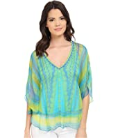 Hale Bob - Meet Me in Havana Silk Chiffon Blouse