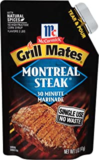 McCormick Grill Mates Montreal Steak Single Use Marinade, 5 oz