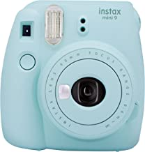 FujifilmInstax mini 9 Instant Film Camera, Ice Blue