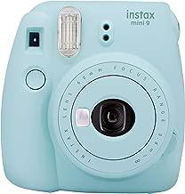 FujifilmInstax mini 9 Instant Film Camera, Ice BlueWith 1 Pack of Fujifilm Mini Film 10 Sheets