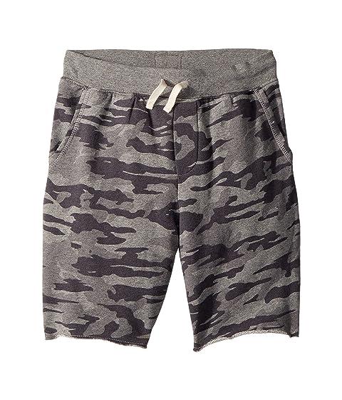 Polo Ralph Lauren Kids Camo Cotton French Terry Shorts (Big Kids)