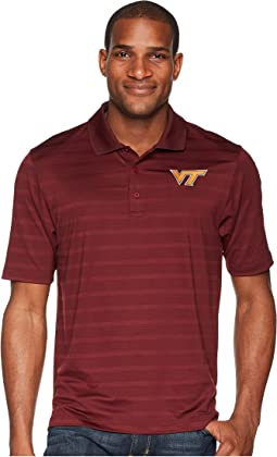 Virginia Tech Hokies Textured Solid Polo