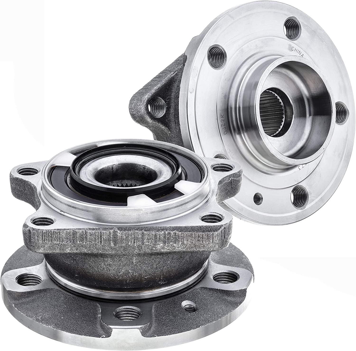 2021 QJZ 2-Pack 512273 - Rear Driver Wheel Side B Passenger Low price and Hub