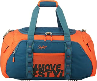 Skybags Unisex Polyester Cabin Soft Luggage Duffel Bag (Orange) - 55 Cm