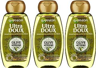 Garnier - ultra morbida mitico Olive - Shampoo Capelli danneggiato - Set di 3