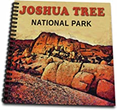 3dRose db_43250_1 Joshua Tree National Park Drawing Book, 8 by 8-Inch