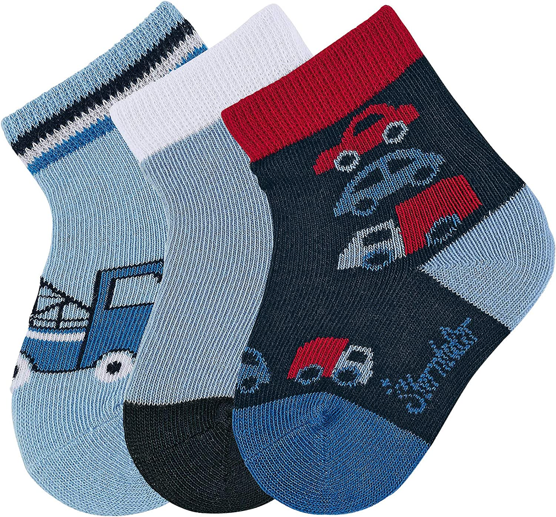 Wei/ß Neugeboren Herstellergr/ö/ße: 0 Sterntaler Unisex Baby Newborn 3-Pair Pack Socken Weiss 500