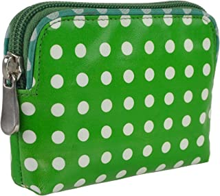 Women's Polka Dot Leather Coin Purse/Wallet By Graffiti Credit Card