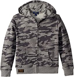 Polo Ralph Lauren Kids - Camo Print Cotton Hoodie (Little Kids/Big Kids)