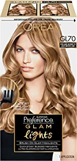 L'Oreal Paris Superior Preference Glam Lights Highlights, GL70 Dark Blonde
