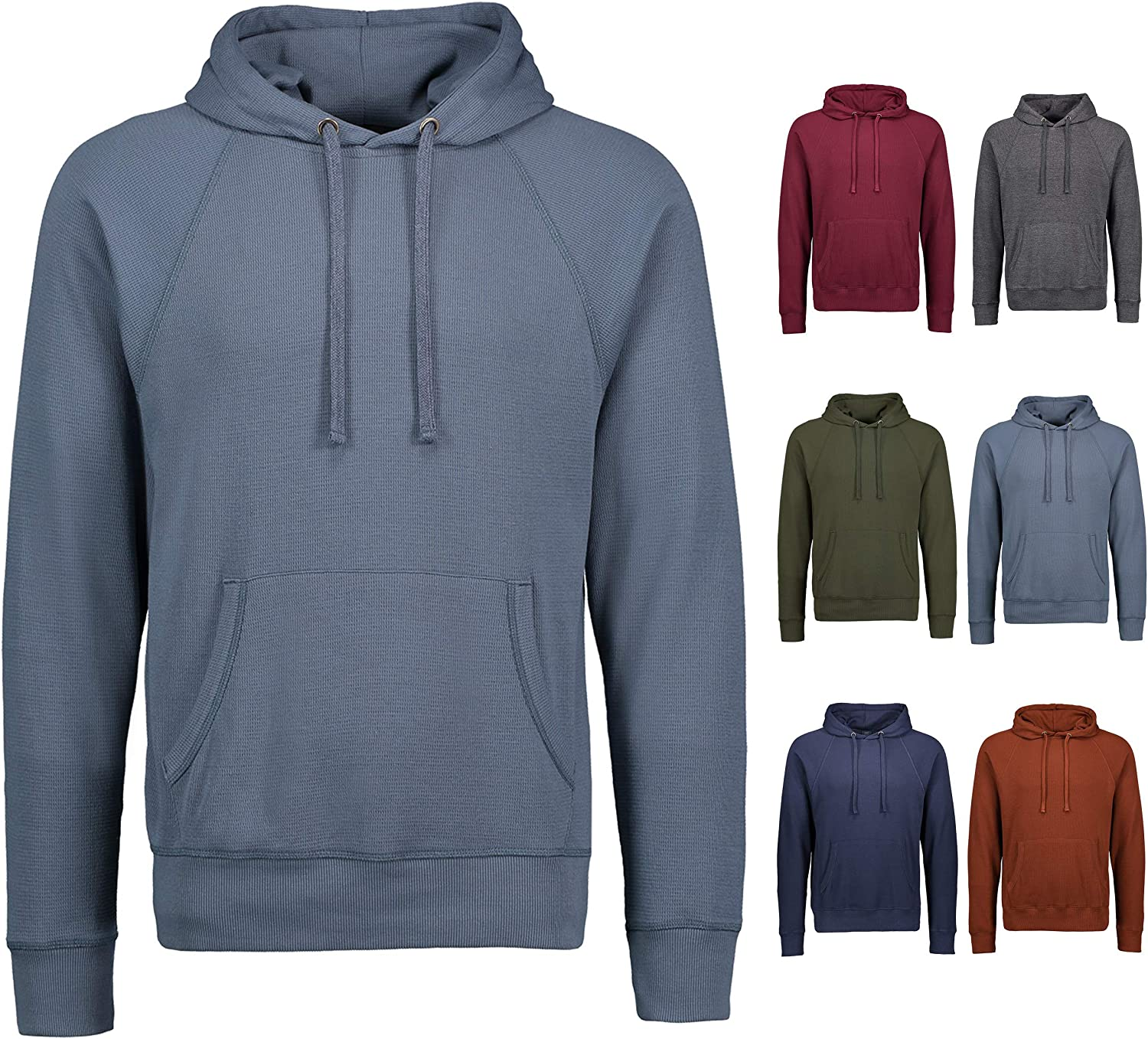 Thermal Shirts for Men Long Sleeve T Large-scale sale Shirt-Mens Selling rankings Hooded L