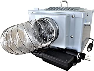 MightyKool 12-Volt Cools a Pet in a Vehicle, While Shopping, Bundled with The Air Intake Housing Plus The A-C DC Converter. P