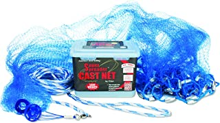 Cast Net 3 ft Mono Super Spreader Cast Net 3//8 Sq. Mesh 10130
