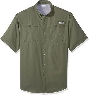 Columbia Men's PFG Tamiami II Short Sleeve Shirt, Moisture Wicking, Sun Protection