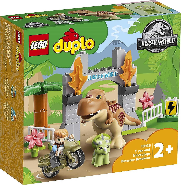 レゴ(LEGO) デュプロ T-レックスとトリケラトプスの大だっそう 10939