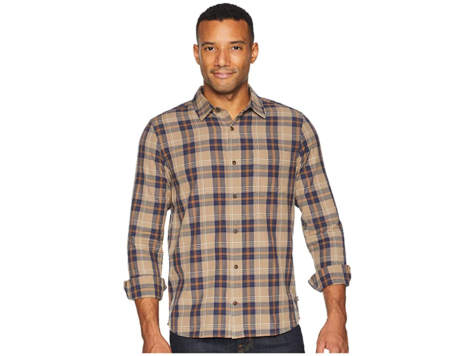 Toad&Co Airscape Long Sleeve Shirt (Dark Chino) Men