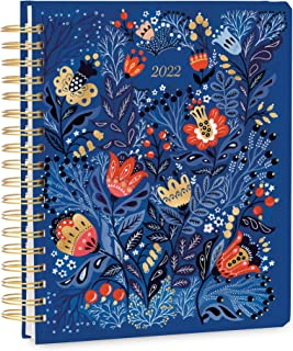 """High Note 2022 Weekly & Monthly Hardcover Planner 17-Month: August 2021 to December 2022, 9"""" x 10"""" by Dinara Mirtalipova"""