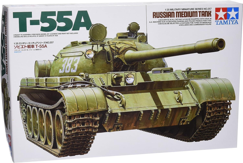 Tamiya 35257 1 35 Soviet Tank T-55, 35257
