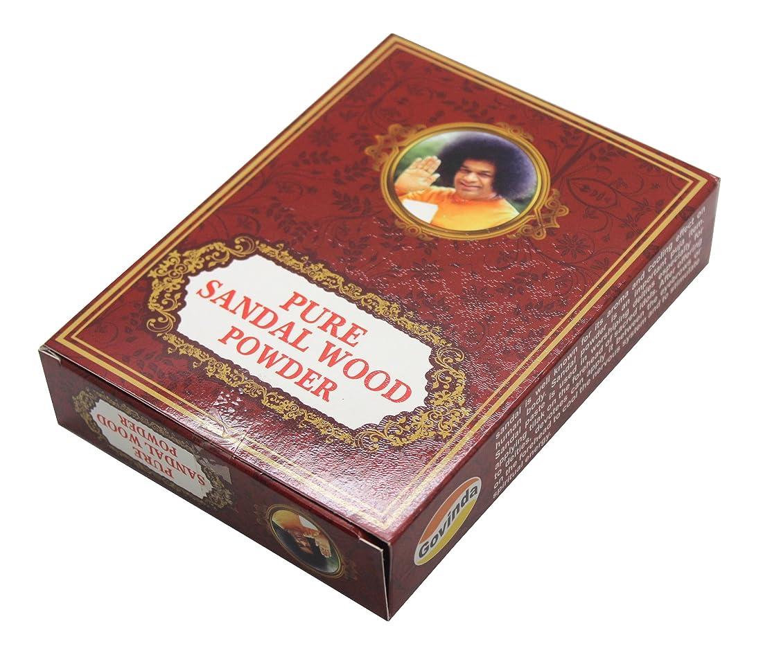 マイナーベッドを作る検出Govinda - Pure Sandalwood Powder - 100 Grammes
