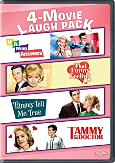 If a Man Answers / That Funny Feeling / Tammy Tell Me True / Tammy and the Doctor 4-Movie Laugh Pack