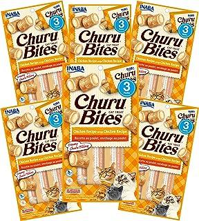 INABA Churu Bites Chicken Wraps Chicken Recipe 6 Packs, 30 Grams (PKUSA724B)