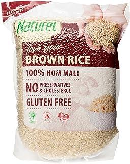 Naturel Organic Brown Rice, 2kg (packaging may vary)