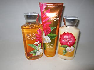 Bath & Body Works White Tea and Ginger Gift Set