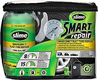 Slime CRK0305-IN płaski zestaw do naprawy uszkodzeń samochodu, zawiera pompkę