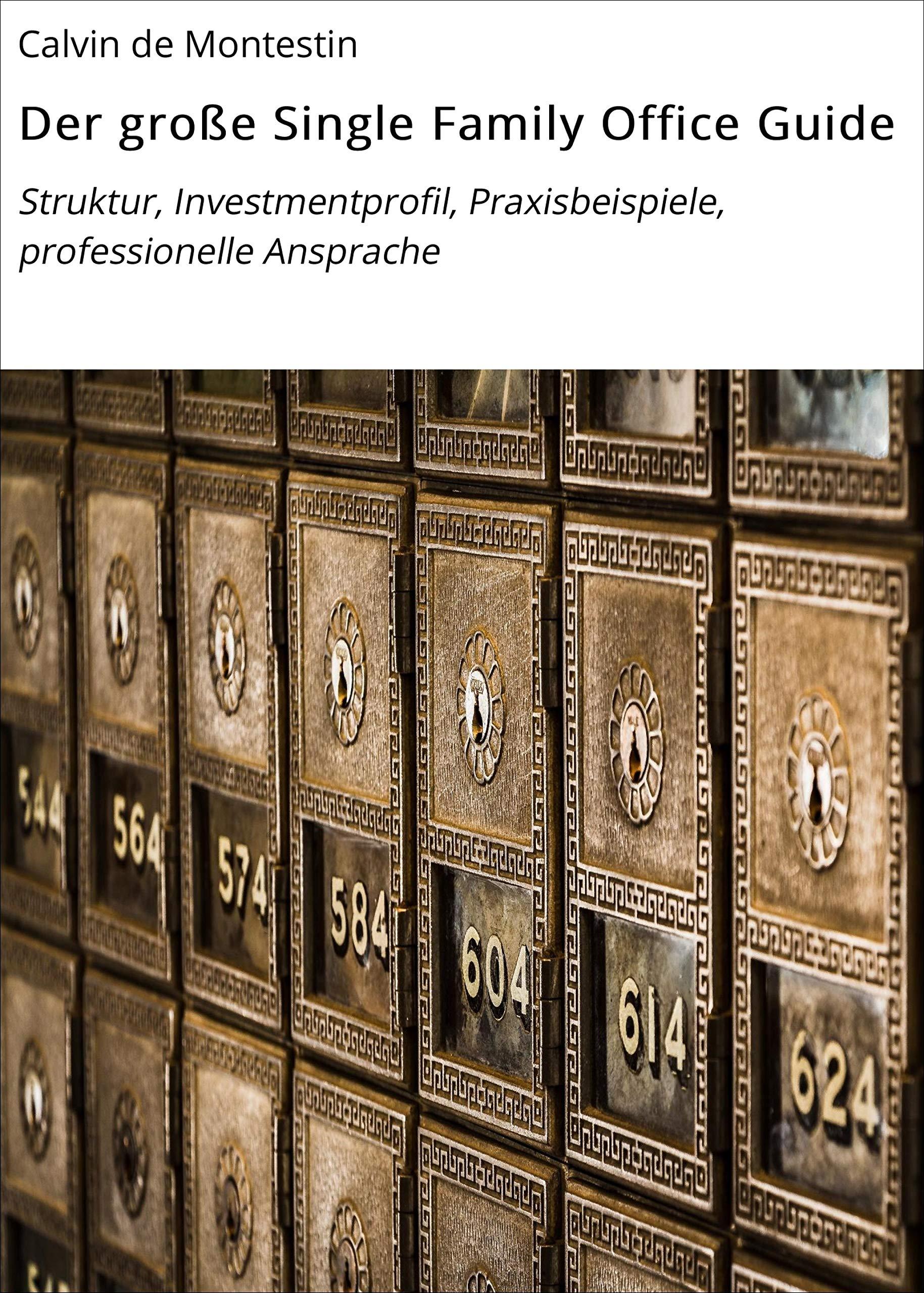 Der große Single Family Office Guide: Struktur, Investmentprofil, Praxisbeispiele, professionelle Ansprache (German Edition)